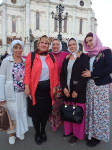 Паломническая поездка коллектива к мощам святителя Николая Чудотворца в г. Москва, 2017г